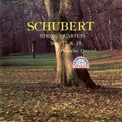 Schubert: String Quartets Nos 12 & 15 Songs