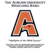 The Auburn University Marching Band Highlights Of The 1994 Season Songs
