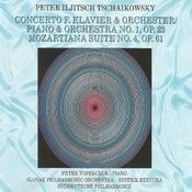 Piotr Ilyich Tchaikovsky - Concerto F. Klavier & Orchestra Songs
