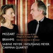 Mozart, Brahms: Clarinet Quintets Songs