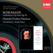Schumann: Liederkreis, etc Songs