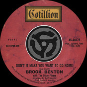 Don't It Make You Want To Go Home / I've Gotta Be Me [Digital 45] (with PDF) Songs