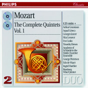 Mozart The Complete Quintets Vol 1 Songs