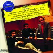 Berg Chamber Concerto Stravinsky Ebony Concerto Dumbarton Oaks 8 Miniatures Songs