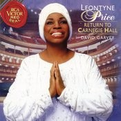 Leontyne Price - Return To Carnegie Hall Songs