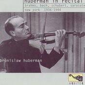 Huberman In Recital: New York, 1936-1944 Songs
