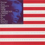 George Jean Nathan's The New American Credo Songs