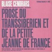 Prose Du Transsiberien Et De La Petite Jeanne De France: Dedie Aux Musiciens Par By Blaise Cendrars Songs