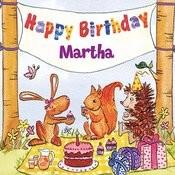Happy Birthday Martha Songs