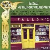 Festival De Musiques Irlandaises Vol. 3 (Musiques Celtiques) Songs