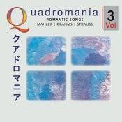 Romantic Songs By Mahler, Brahms, Strauss -Vol.3 Songs