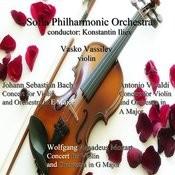Johann Sebastian Bach - Antonio Vivaldi - Wolfgang Amadeus Mozart: Concerts For Violin And Orchestra Songs