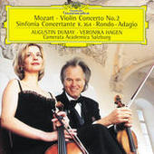 Mozart: Sinfonia concertante K. 364 Songs