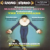 Masquerade Suite; The Comedians; Capriccio italien; Capriccio espagnol Songs