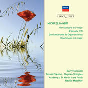 Michael Haydn: Horn Concerto; 6 Minuets Songs
