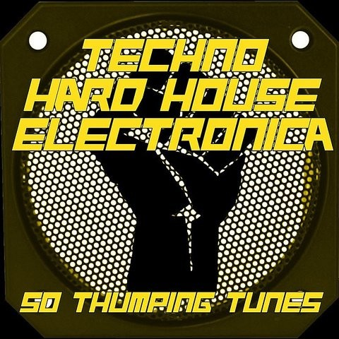 Techno hard house electronica 50 thumping tunes vol for Classic hard house tunes