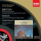 Britten:Sinfonia da Requiem, Peter Grimes/Holst:The Perfect Fool, Egdon Heath Songs