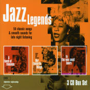 Jazz Legends Our Favourite Things A Touch Of Romance The Wee Small House Songs