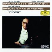 Schubert: Symphonies Nos.5 & 8 / Dvorák: Symphony No.9 / Schumann: Symphony No.4 Songs