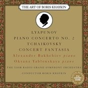 Lyapunov: Piano Concerto No. 2 in E Major, Op. 38 - Tchaikovsky: Concert Fantasia for Piano and Orchestra in G Major, Op. 56 Songs