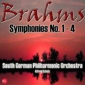 Brahms: Symphonies No. 1 - 4 Songs