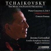 Tchaikovsky: The Music For Piano And Orchestra Songs