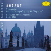 Mozart: Symphonies Nos. 38, 39 & 41 Songs