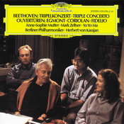 Beethoven: Triple Concerto; Overtures Songs