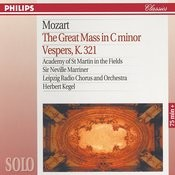 Mozart: The Great Mass in C Minor; Vesper K.321 Songs