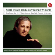 André Previn Conducts Vaughan Williams Symphonies 1-9, Concerto and More Songs