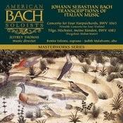 J.S. Bach - Transcriptions of Italian Music Songs
