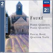 Fauré: Piano Quartets & Piano Quintets (2 CDs) Songs