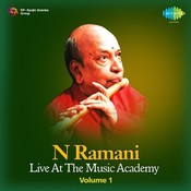 N Ramani - Live At The Music Academy Vol 1 Songs