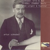 Brahms: Chamber Music With Szigeti & Fournier Songs
