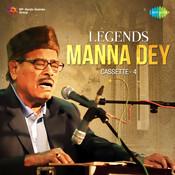Legends - Manna Dey Cassette 4 Songs