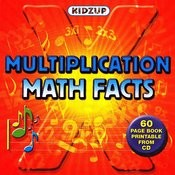 Multiplication Math Facts Songs