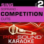 Competition Cuts - Soprano - Showtunes (Vol. 2) Songs