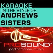 Karaoke - In The Style Of Andrews Sisters - Ep (Professional Performance Tracks) Songs