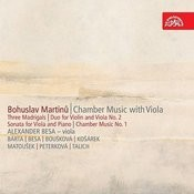 Martinu: Chamber Music With Viola Songs
