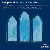 Pergolesi: Missa S. Emidio; Salve Regina in f Minor; Manca la guida al piè; Laudate pueri Dominum Songs