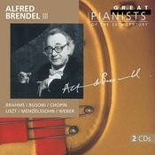 Alfred Brendel III (Great Pianists of the 20th Century Vol.14) Songs
