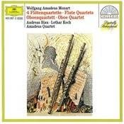 Mozart: 4 Flute Quartets; Oboe Quartet Songs