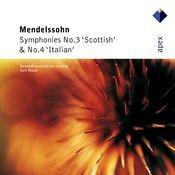 Mendelssohn : Symphonies Nos 3 & 4 (-  Apex) Songs