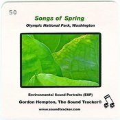 Songs Of Spring Songs