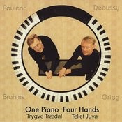 Brahms, Grieg, Debussy, Poulence: One Piano Four Hands Songs
