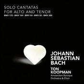 Bach: Solo Cantatas For Alto And Tenor Songs