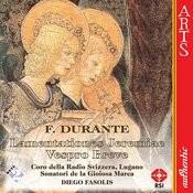 Lamentationes Jeremiae Prophetae (Lectionis In Feria Sexta Parasceve): Recordare (Chorus) (Durante) Song