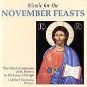 Music For The November Feasts Songs