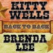 Back To Back: Kitty Wells & Brenda Lee Songs
