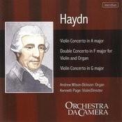 Concertos For Violin And Organ Songs